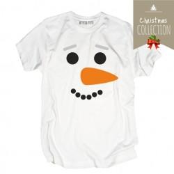 Koszulka męska Świąteczny bałwanek
