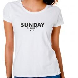 Koszulka damska Sunday t-shirt