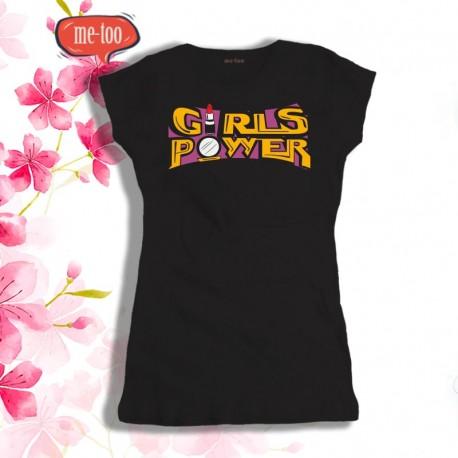 Koszulka damska z nadrukiem Girls Power