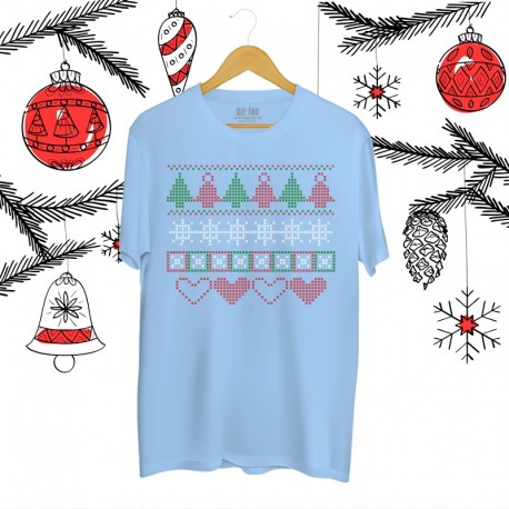 Koszulka męska Christmas pattern