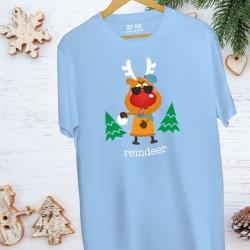 Koszulka męska Naughty reindeer / Niegrzeczny renifer
