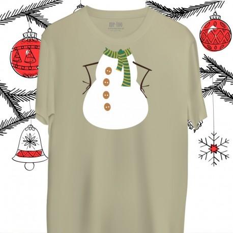 Koszulka męska Snowman / Bałwanek