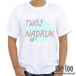 Koszulka męska + TWÓJ NADRUK