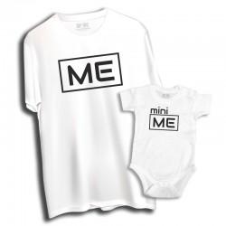 Komplet: koszulka męska i dziecięca Me - Mini Me