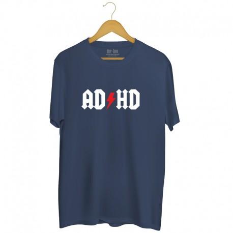 Męska koszulka z nadrukiem ADHD