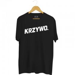 Koszulka z nadrukiem Krzywo