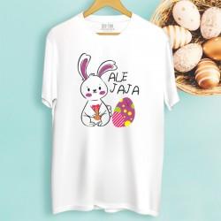 Męska koszulka Wielkanocna z nadrukiem Ale jaja