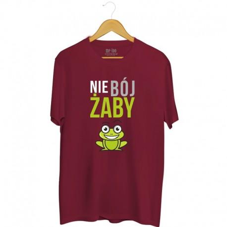 Męska koszulka z nadrukiem Nie bój żaby