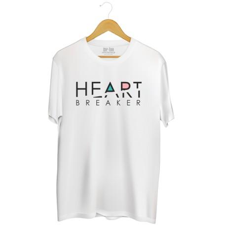 Męska koszulka z nadrukiem Heart breaker