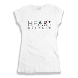 Damska koszulka z nadrukiem Heart breaker