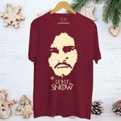 Koszulka męska Let it snow