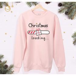 Bluza unisex z nadrukiem - Christmas loading | rozmiary dorosłe i dziecięce
