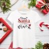 Koszulka damska Dear Santa just bring Wine