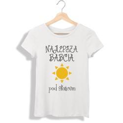 Koszulka damska Najlepsza babcia pod słońcem