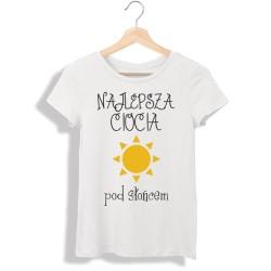 Koszulka damska Najlepsza ciocia pod słońcem