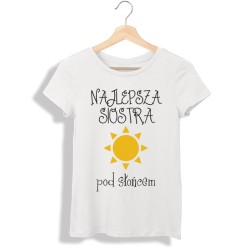 Koszulka damska Najlepsza siostra pod słońcem