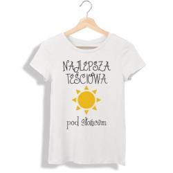 Koszulka damska Najlepsza teściowa pod słońcem