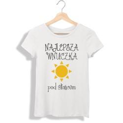 Koszulka damska Najlepsza wnuczka pod słońcem