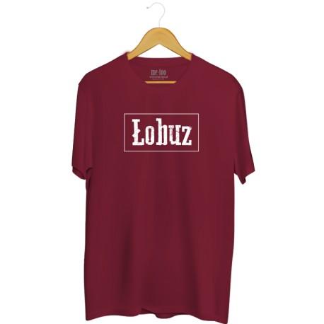 Męska koszulka z nadrukiem: Łobuz