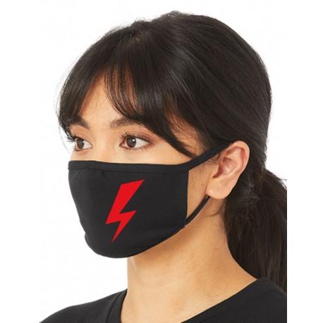 Maska z piorunem   Protest Kobiet