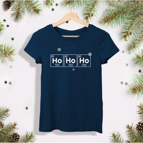 Świąteczna koszulka dla chemiczki: HoHoHo - Holmium