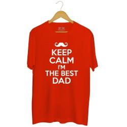 Koszulka męska z nadrukiem Keep Calm I'm the best Dad