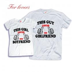Komplet koszulek dla zakochanych: This Guy/Girl - loves Him/Her...
