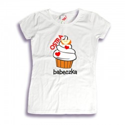 Damska koszulka: Ostra babeczka