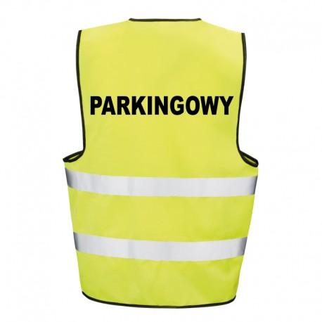 Kamizelka ostrzegawcza z nadrukiem Parkingowy
