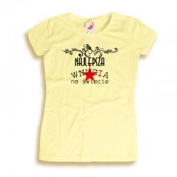 Koszulka damska Najlepsza wnusia na świecie