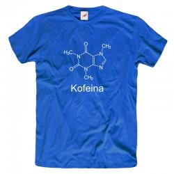 Koszulka męska Kofeina - wzór