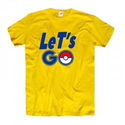 Koszulka męska Pokemon Lets'GO