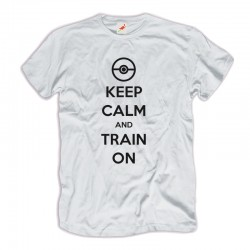 Koszulka Pokemony Keep Calm and Train On