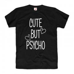 Koszulka damska Cute But Psycho