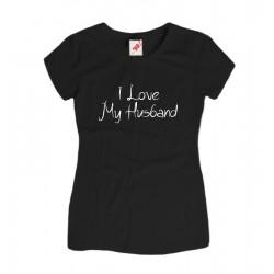 Koszulka damska I love my husband