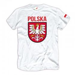 Koszulka męska Polska - Godło - Flaga