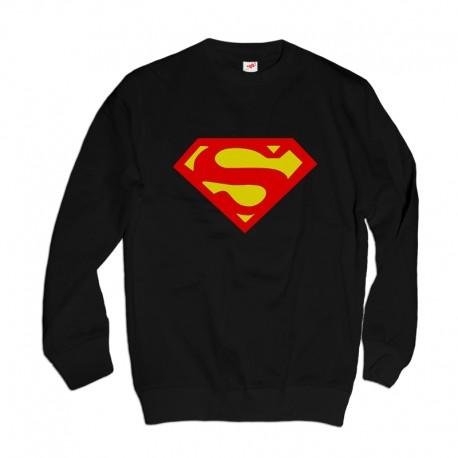 Bluza z nadrukiem logo Superman
