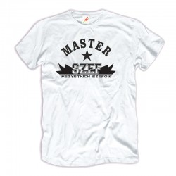 Koszulka męska z nadrukiem: Master Szef Wszystkich Szefów