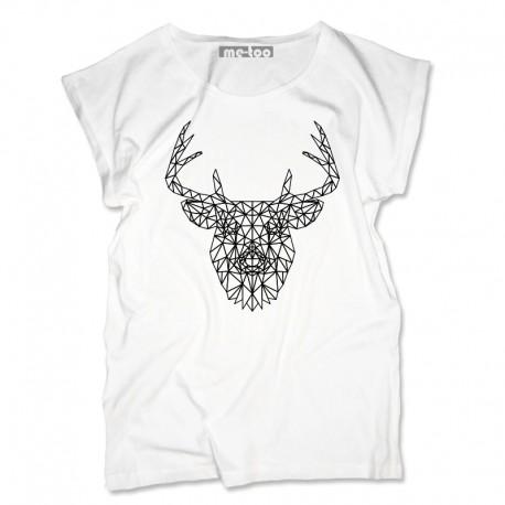 Bluzka damska Geometric Deer