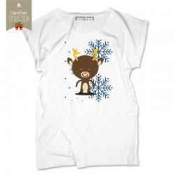 Koszulka damska Christmas reindeer