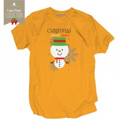 Koszulka męska Christmas snowman