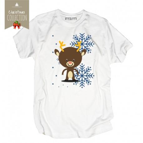 Koszulka męska Christmas reindeer
