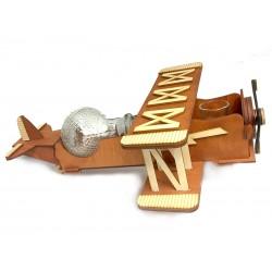 Drewniany samolot - karafka