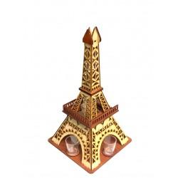 Drewniana wieża eiffla - karafka