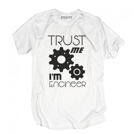 Koszulka męska Trust me I'm engineer