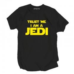 Koszulka z nadrukiem Trust me I am a JEDI