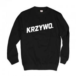 Bluza z nadrukiem Krzywo