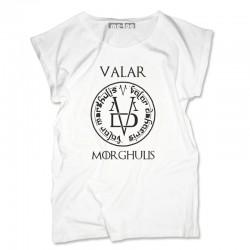 Bluzka damska Valar Morghulis moneta