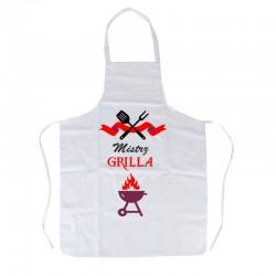 Fartuch z nadrukiem: Mistrz Grilla
