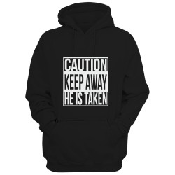 Bluza męska CAUTION KEEP AWAY HE IS TAKEN